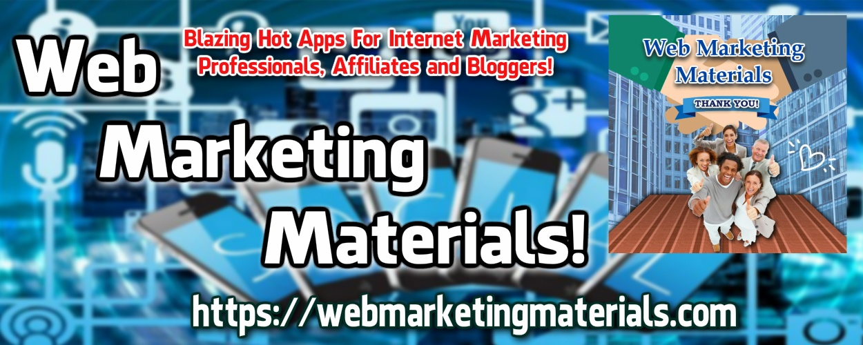 Web Marketing Materials Banner